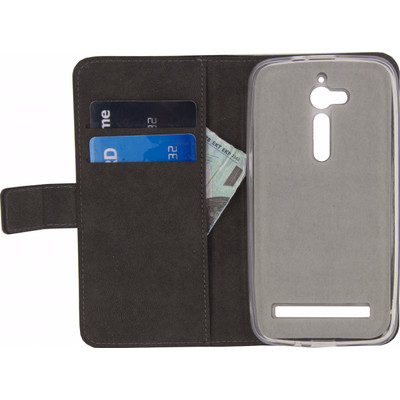 Mobilize Classic Gelly Wallet Asus ZenFone Go Book Case Zwart