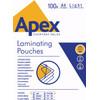 Apex Lamineerhoezen 75 micron A4 (100 stuks)