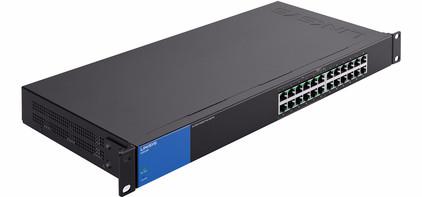 Linksys LGS124P PoE Switch