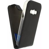 Mobilize Classic Gelly Flip Case Samsung Galaxy Xcover 3 Zwart