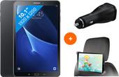 Samsung Galaxy Tab A 10.1 Wifi Zwart BE + gratis Carkit