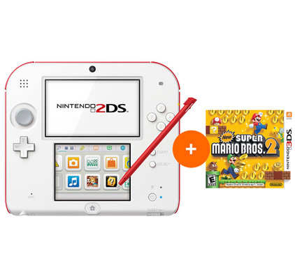 Nintendo 2DS New Super Mario Bros. 2 Pack