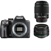PENTAX K-70 Black + DA 18-50 WR + DA 50-200 WR kit