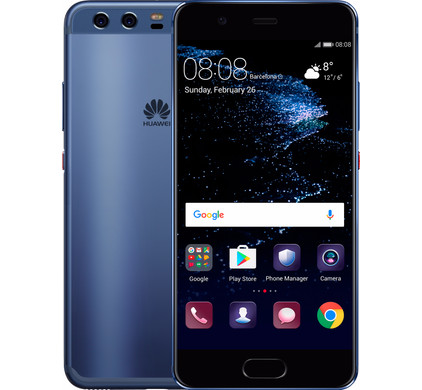 huawei p10 blauw coolblue. Black Bedroom Furniture Sets. Home Design Ideas
