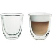 De'Longhi 2 Dubbelwandige Glazen