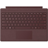 Microsoft Surface Pro Type Cover QWERTY Donkerrood