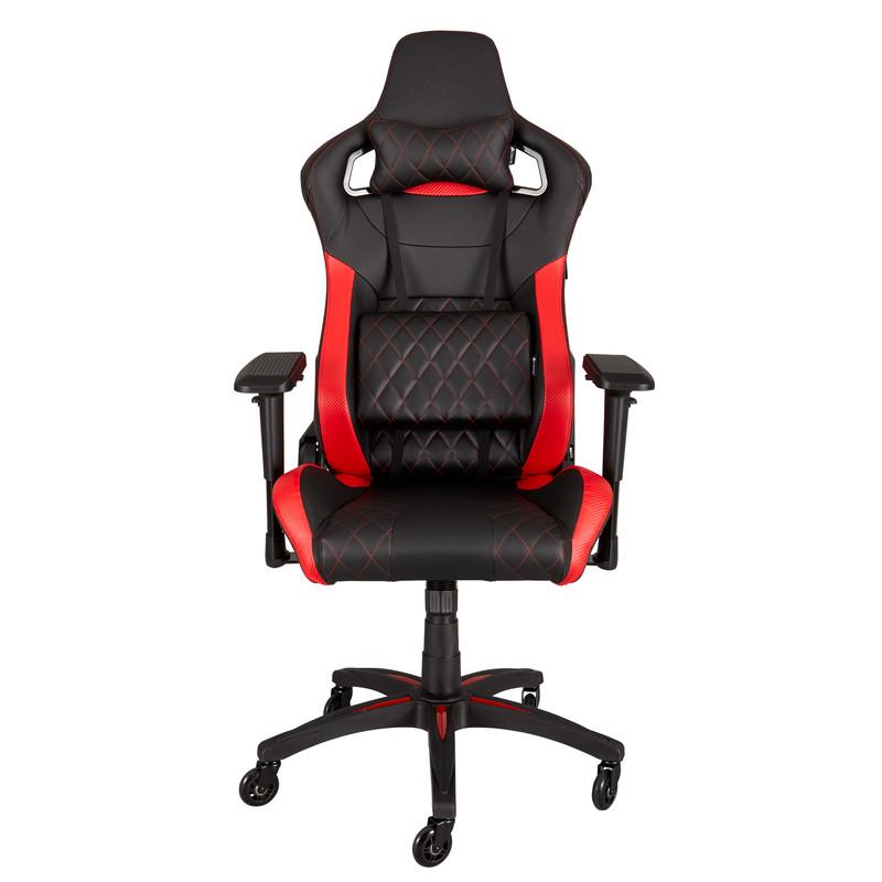 T1 RACE Gaming Chair Bk-rd