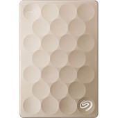 Seagate Backup Plus Ultra Slim 2 TB Goud