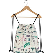 The Pack Society Gymsack Multicolor Flower All Over