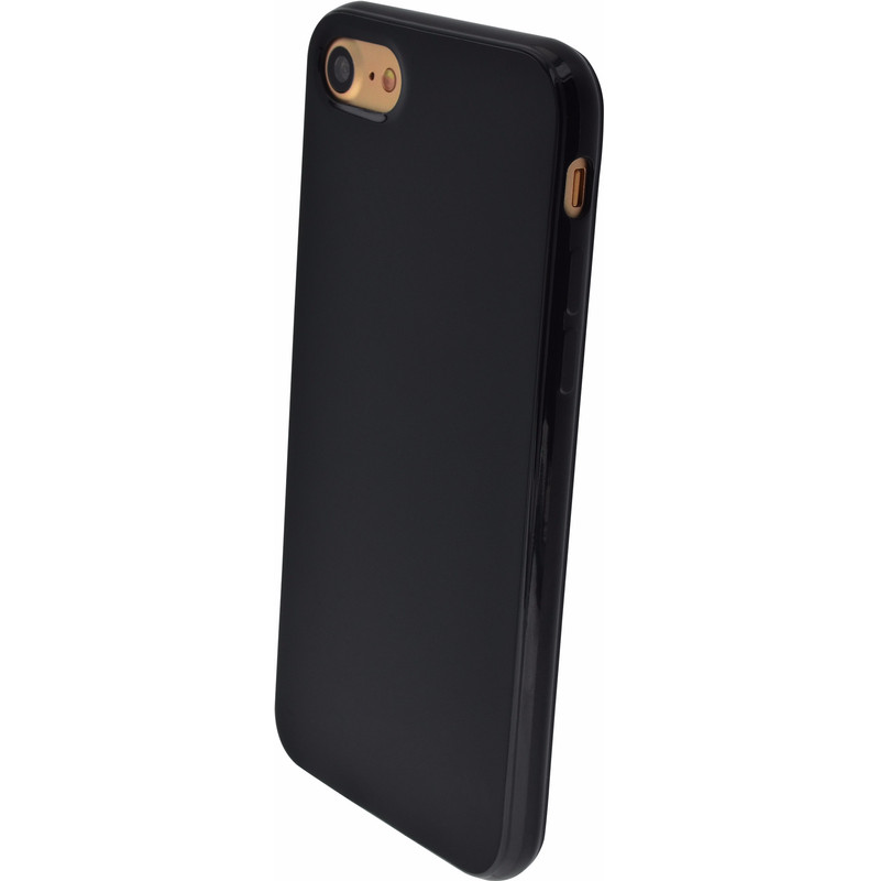 Mobiparts Essential TPU Case Apple iPhone 7 Zwart