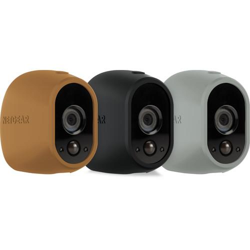 Netgear Arlo Wire-Free Camera Skin Pack: Bruin, zwart, grijs