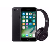 Apple iPhone 7 128 GB Zwart + Beats Solo3