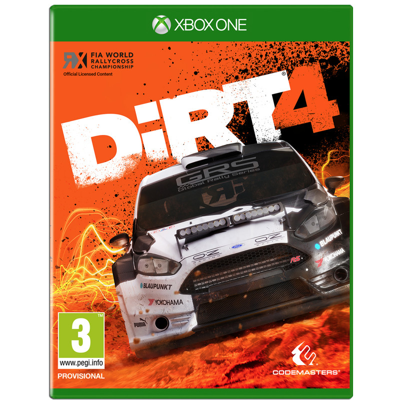 Codemasters DiRT 4 (Day One Edition) Xbox One (CDM096.BX.RB)