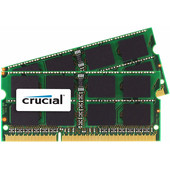 Crucial Apple 8 GB SODIMM DDR3-1600 2 x 4 GB