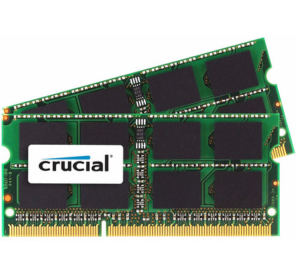 Crucial Apple 8 GB SODIMM DDR3-1600 2 x 4 GB