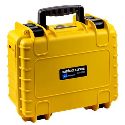 B&W International Type 3000 geel incl. schuimstof