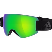 Adidas Progressor Splite Black Matt + Green Mirror Lens