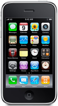 Apple iPhone 3GS 16 GB Black T-Mobile simlock