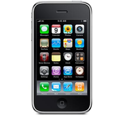 Apple iPhone 3G S 8 GB Black T-Mobile