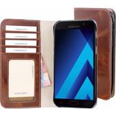 Mobiparts Excellent Wallet Galaxy A5 (2017) Book Case Bruin