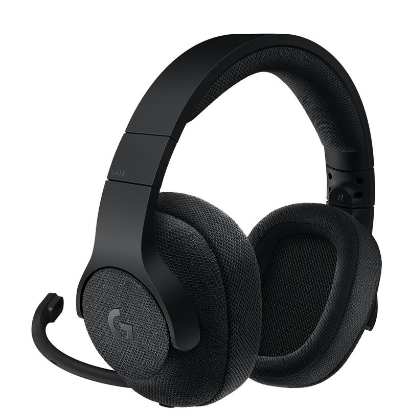 Dagaanbieding: Logitech G433 7.1 Surround Sound Gaming Headset Zwart
