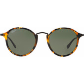 Ray-Ban Round Fleck RB2447 Spotted Black Havana / Green