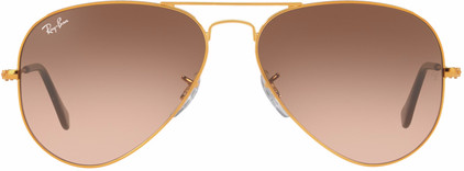 Ray-Ban Aviator RB3025/55 Shiny Light Bronze / Pink Gradient Brown