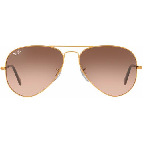 Ray-Ban Aviator RB3025/55 Shiny Light Bronze / Pink Gradient