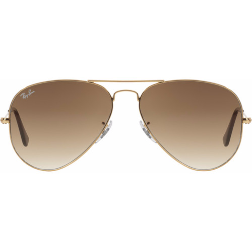 Ray-Ban Aviator RB3025/58 Gold / Crystal Brown Gradient Lens