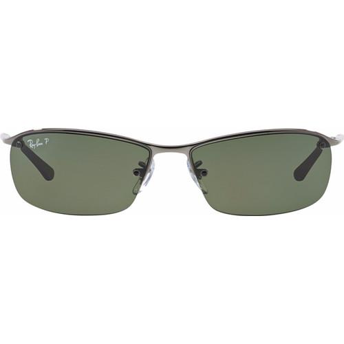 Ray-Ban RB3183 Gun / Polarized Green Lens