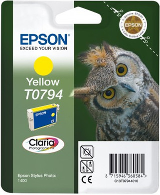 Epson T0794 Ink Cartridge Yellow (geel) C13T07944010