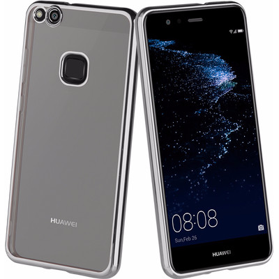 Muvit Bling Huawei P10 Lite Back Cover Grijs