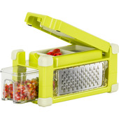 Nicer Dicer Magic Cube Gourmet Geel 9-delig