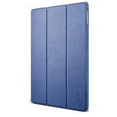 VRS Design Saffiano K1 Apple iPad Hoes Blauw