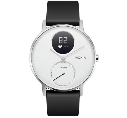 Nokia Steel HR 36mm Wit