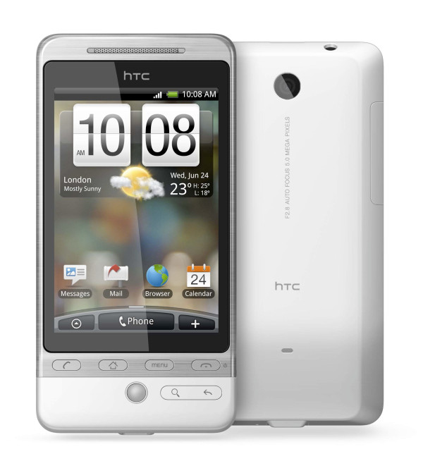 HTC Hero Absolute White