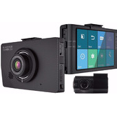 BlackVue DR490L-2CH Full HD LCD Dashcam + 16GB