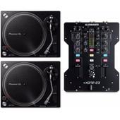 DJ Set Allen & Heath Xone:23 + Pioneer PLX-500 Zwart