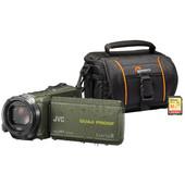 Zomerkit - JVC GZ-R435GEU + Geheugen + Tas