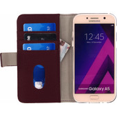 Mobilize SE Classic Gelly Wallet Samsung Galaxy A5 (2017) Book Case Rood