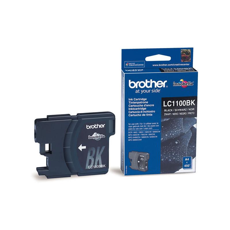 Brother Lc-1100bk Black (zwart)