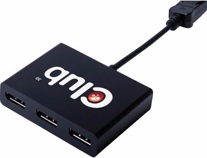 Club 3D CSV-5300A DisplayPort naar 3 x DisplayPort