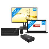 Workstation pakket - Lenovo ThinkPad E570 - i5-8gb-256ssd