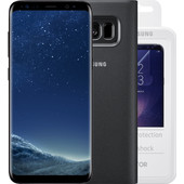 Samsung Galaxy S8 + hoesje + screenprotector