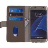 Mobilize SE Classic Gelly Wallet Samsung Galaxy S7 Book Case Bruin