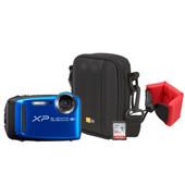 Zomerkit - Fujifilm FinePix XP120 + Geheugen + Tas + Floating Strap