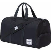 Herschel Novel Black/Black Synthetic Leather