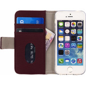 Mobilize SE Classic Gelly Wallet Apple iPhone 5/5s/SE Book Case Rood