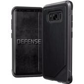 X-Doria Defense Lux Samsung Galaxy S8 Back Cover Zwart