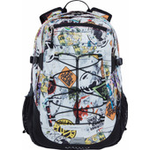 The North Face Borealis Classic TNF Red Sticker Bomb Decay Print/TNF Black